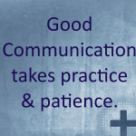 Good Communication:Cross
